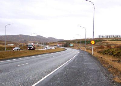 Þjóðvegur 1, Víkurvegur-Skarhólabraut