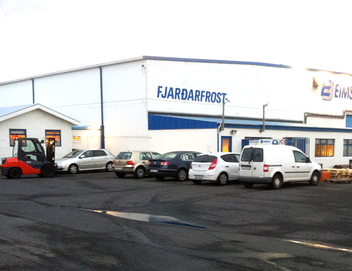 Eimskip, Fjarðarfrost