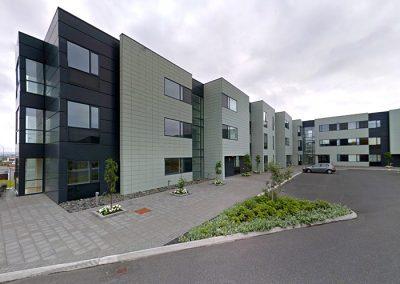 Hrólfsskálamelur 2-8, Residential Building