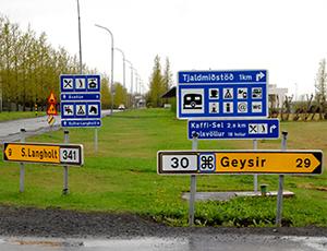 Þörf á heildarstefnu um vegvísa
