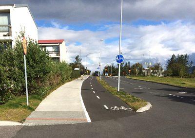 Hjólastígar í Reykjavík 2014