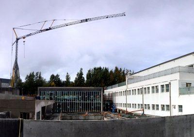 Reykjavik svømmehall, tilbygging