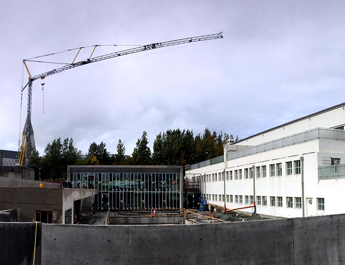 Sundhöll Reykjavíkur, viðbygging