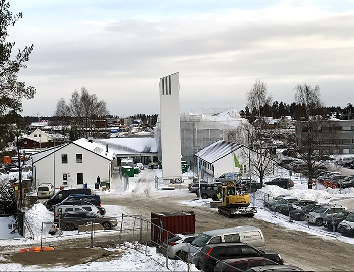 Stór verkefni í Jessheim, Noregi
