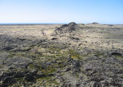 Research drilling at Eldvörp