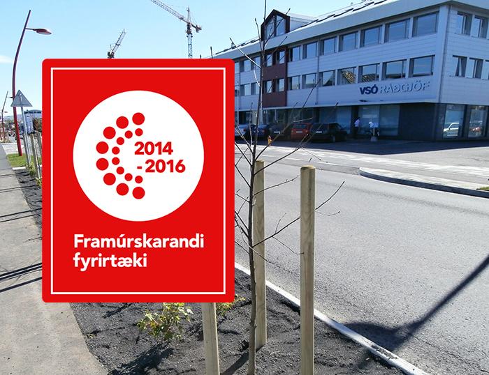 VSÓ er framúrskarandi fyrirtæki þriðja árið í röð
