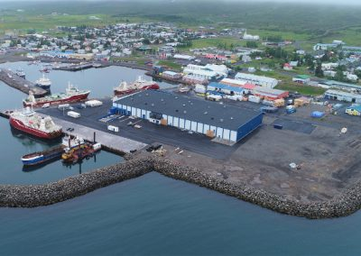 Fish processing plant in Dalvík
